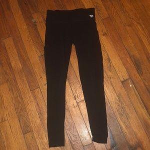 PINK Victoria's Secret yoga pants sz XS black